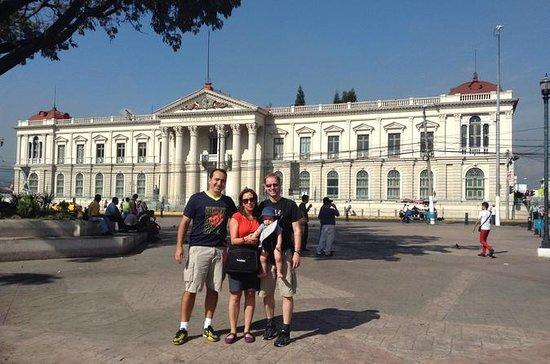 Halvdagstur: San Salvador by og vulkan