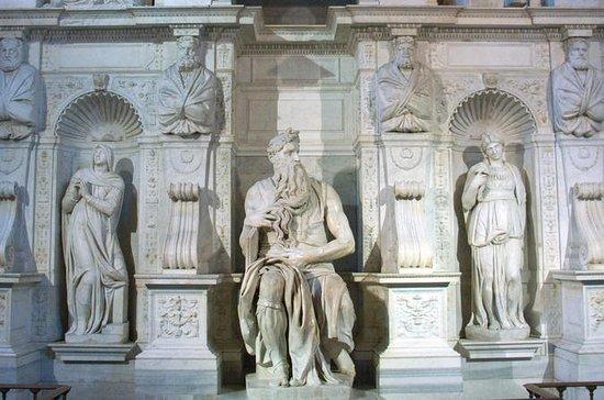Forntida Rom med St Peter i Kedjor ...