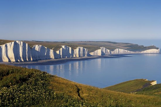 South Downs and Seven Sisters from...