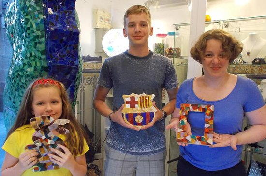 Gaudi Tour and Local Art Workshop in...
