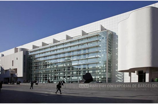 Barcelona MACBA Museum of Contemporary Art Admission Ticket