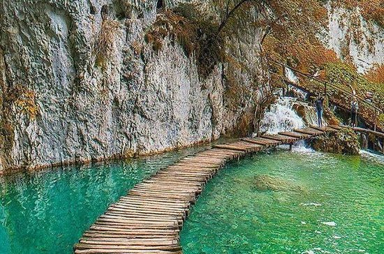 From Zadar to Plitvice Lakes private...