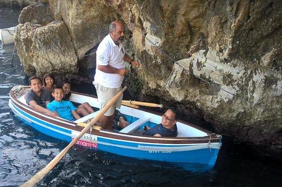 Excursion d'une journée à Capri et...
