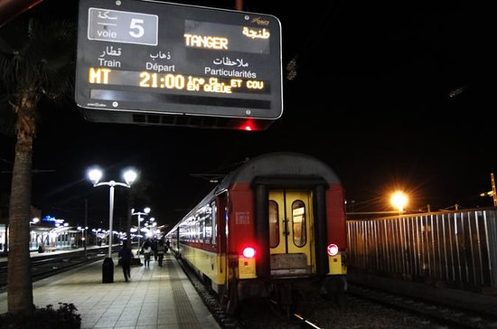 Night Train Ticket: Tangier To Marrakech