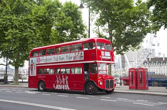 Afternoon Tea Bus in London