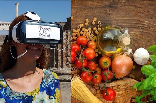VRヘッドセットを使ったソレントのクッキングクラスとポンペイガイド付きツアー