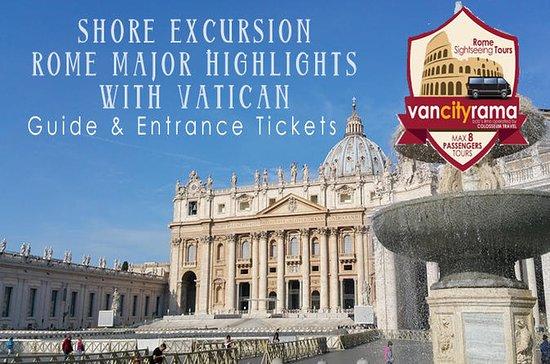 Shore Excursion: Rom vigtigste...