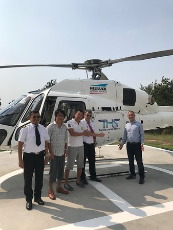 SIAM COUNTRY CLUB - Picture of THS Thai Helicopter Service