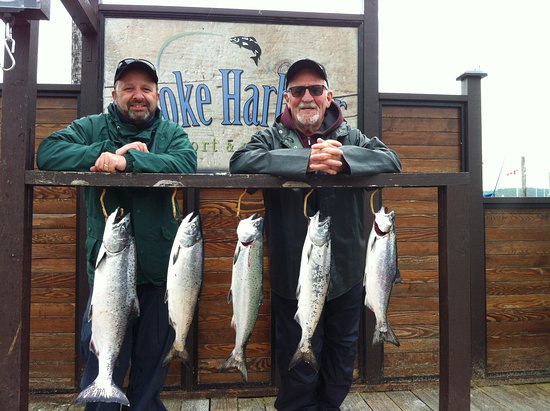 Sooke, Canada: Full day of fishing, great day!!