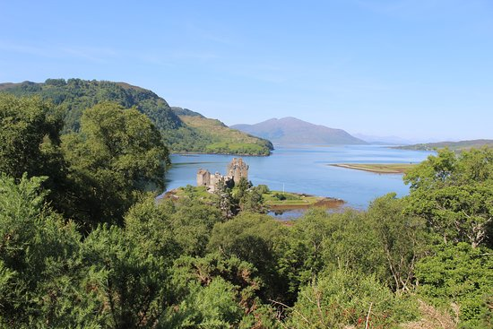Eilean Donan Castle: Great Views from above