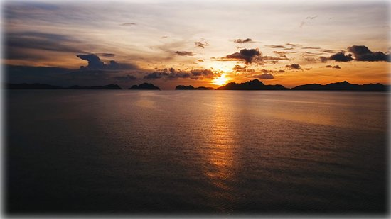 Palawan Province, Φιλιππίνες: Bacuit Bay from El Nido, Palawan, Philippines