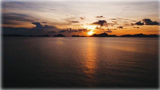 Palawan Province, Philippinen: Bacuit Bay from El Nido, Palawan, Philippines