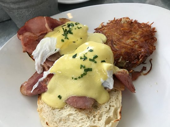 Boon Fly Benedict at Boon Fly Cafe in Napa.