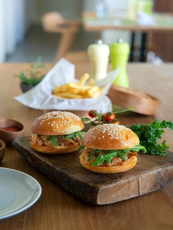 Andong Teras Restaurant: Suckling Pig Sliders