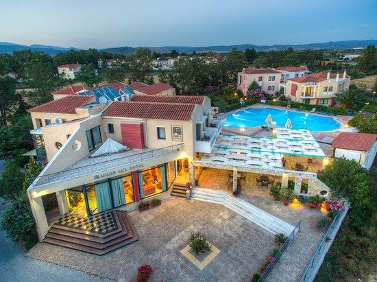 Aeolian Gaea Hotel: Hotel view