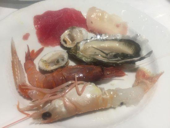 La Taverna da Maurizio: Crudo misto