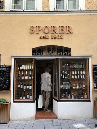 Spirits Sporer: Scorer store that you won't miss in Getreidegasse