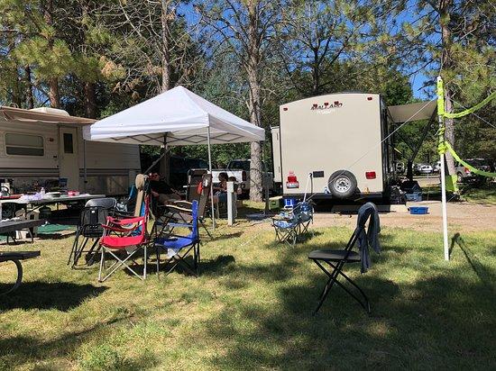 Glenns Ferry, Айдахо: Camp site.