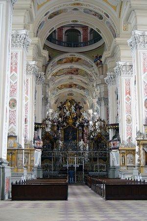 Schontal, Allemagne : KlosterKirche Innenschiff