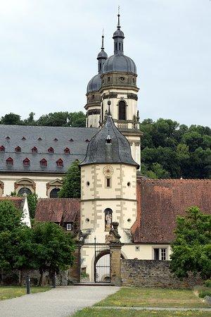 Schontal, Allemagne : Aufnahme vom Kloster aus dem Klostergarten