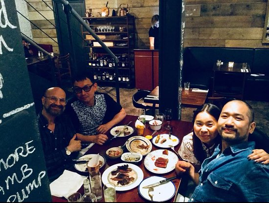 Blacklock Soho: Dinner with best friends