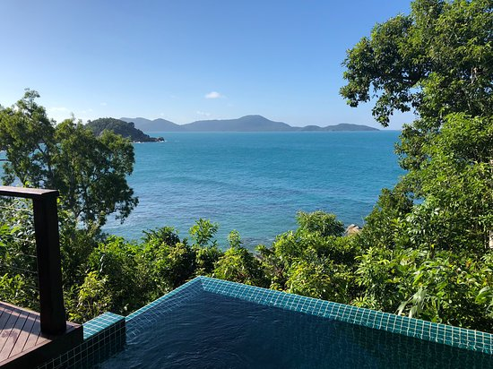Bedarra Island, Australia: View from Villa North East