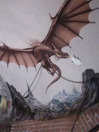 Pilsen Region, Czech Republic: drak
