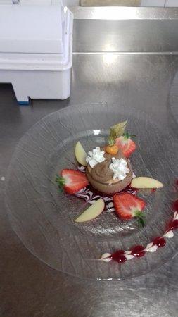 Saint-Agreve, France: Dessert