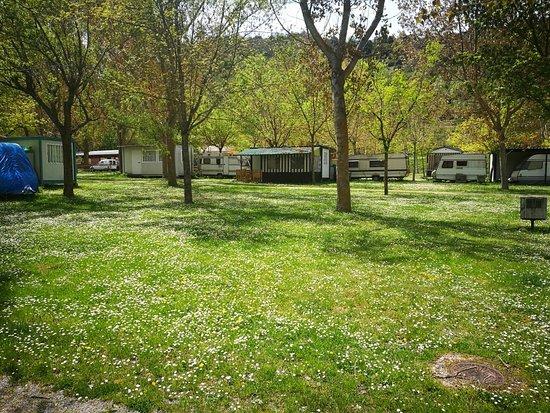 Villoslada de Cameros, Ισπανία: Camping