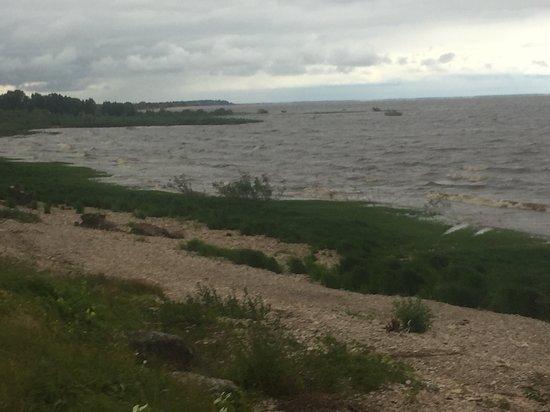 Озеро Ильмень: берега