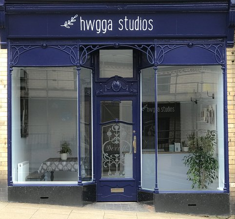 Llandrindod Wells, UK: The shop front