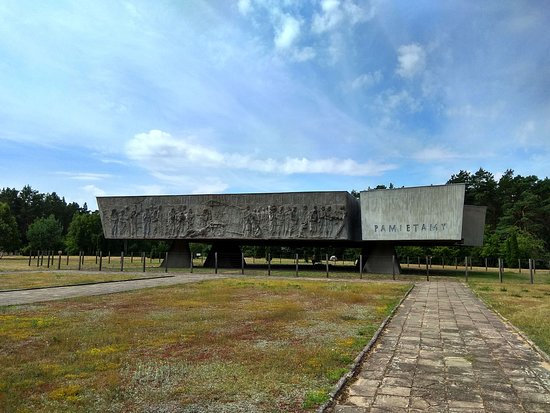 Chelmno, Polen: Pomnik z przodu