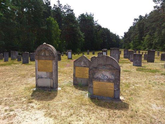 Chelmno, Polen: Płyty nagrobne