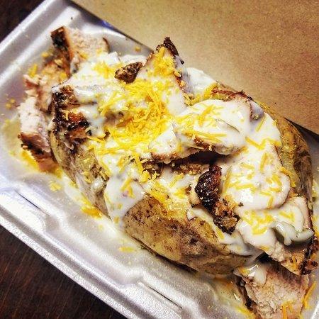 Bridge City, Τέξας: Rock's Spot BBQ & Catering