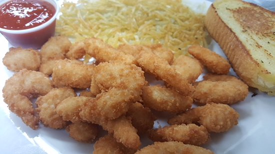Sheldon, IA: Breaded Popcorn Shrimp