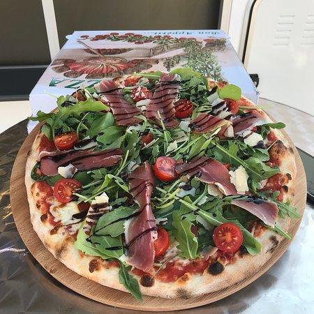 Vaucluse, France : Pizza de l'été