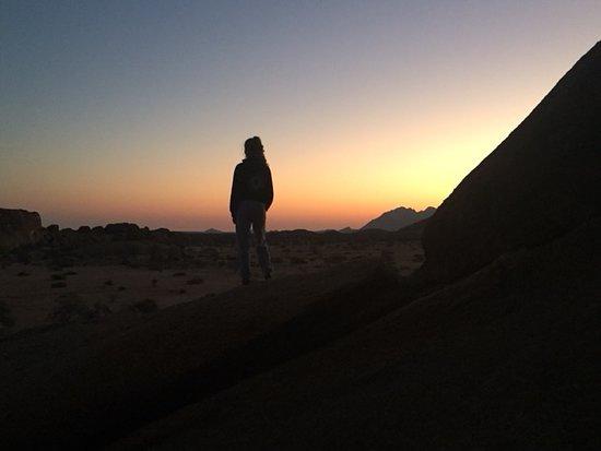 Usakos, Namibia: Gorgeous sunset