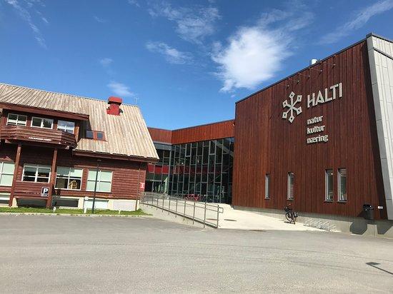 Storslett, Норвегия: Halti turistinformasjon