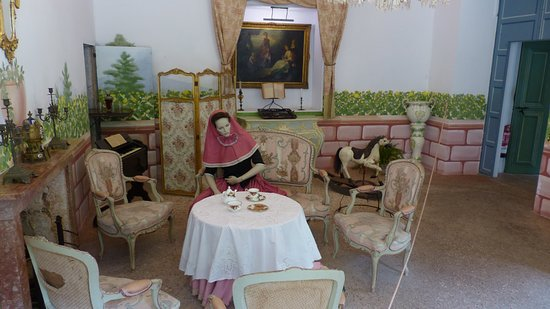 La Granja: One of the rooms in the house
