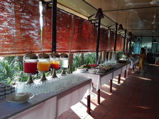 Lang Co, Vietnã: Breakfast buffet