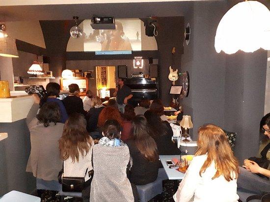 Province de Lecce, Italie: Caffe Letterario