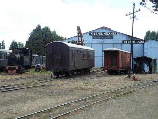 El Maiten, Argentina: talleres ferroviarios.