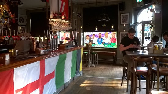 All decked out for the World Cup