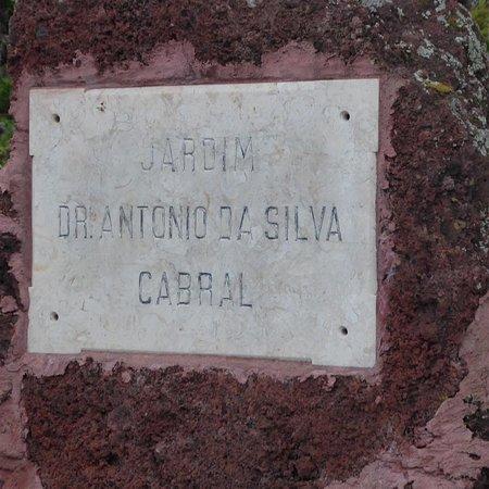 Jardim Dr Antonio Da Silva Cabral