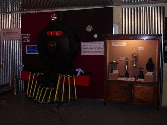 El Maiten, Argentina: Museo ferroviario El Maitén chubut.