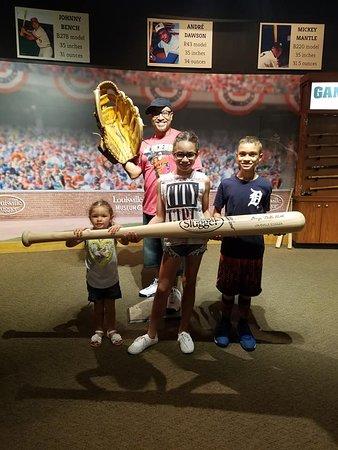 Louisville Slugger Museum & Factory: Fun photo