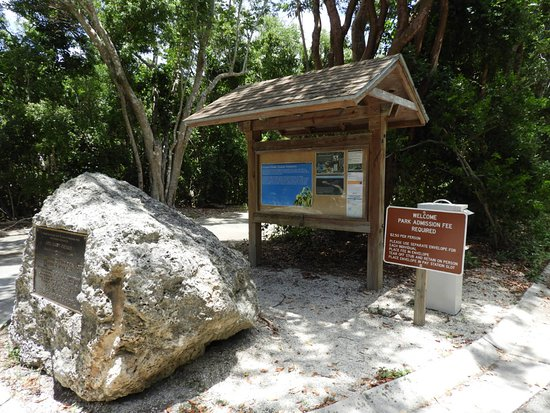 Dagny Johnson Key Largo Hammock Botanical State Park: Entrance area