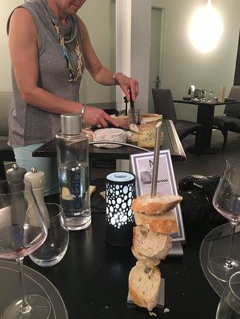 L'Oceanic: cheese dessert