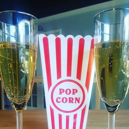 Great Shoals Cellars: Popcorn and Sparkling Wine