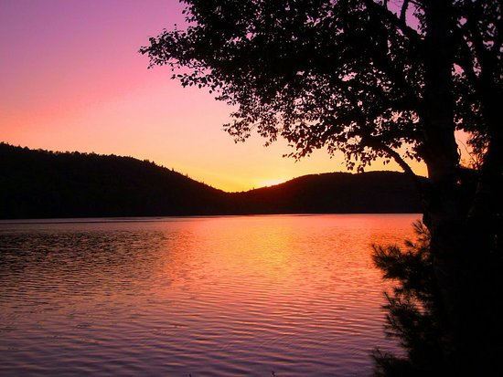 Ashland, Мэн: Munsungan Lake Sunset ... every night